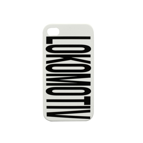 "Кейс для iPhone 4/4S ""Lokomotiv"" белый"