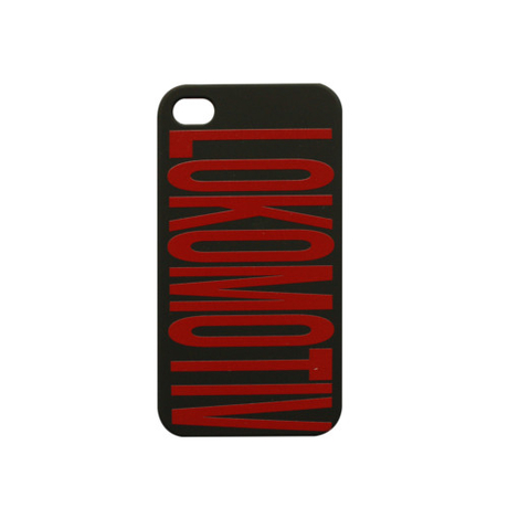 "Кейс для iPhone 4/4S ""Lokomotiv"" черный"