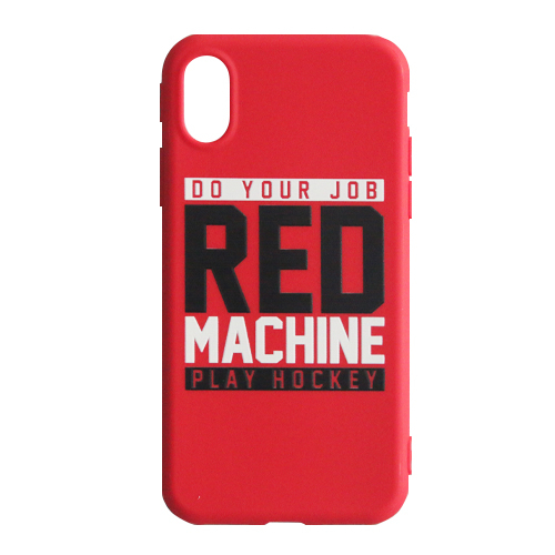 "RM Кейс для IPhone X ""Red Machine"" красный RM073"